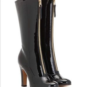 Valentino Rebelle Leather Boots